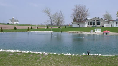 residential pond